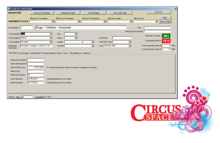 Database Development goes live for Circus Training School