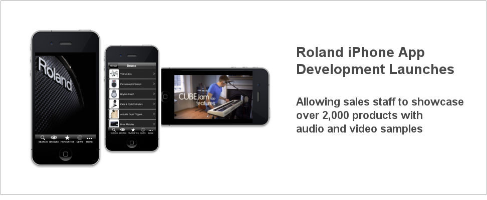 Roland iPhone App Development